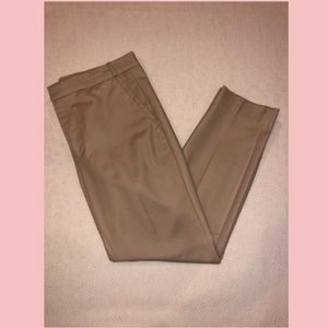 Zara Basic Khaki Pants